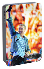Coldplay4 Portable Battery Charger by Rafa Rivas