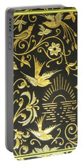 Portable Battery Charger featuring the photograph Spanish Artistic Birds by Linda Phelps