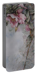 Spanish Camellias Portable Battery Charger