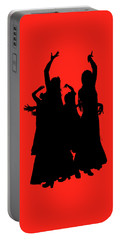 Portable Battery Charger featuring the photograph Spanish Dancers by Jeff Burgess