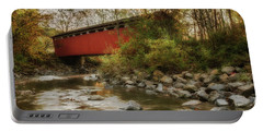 Portable Battery Charger featuring the photograph Spanning Across The Stream by Dale Kincaid