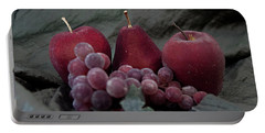 Portable Battery Charger featuring the photograph Sparkeling Fruits by Sherry Hallemeier
