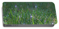 Sparkling Dew Drops Portable Battery Charger