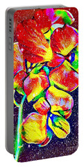 Sparkling Flower Portable Battery Charger