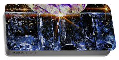 Sparkling Glass Portable Battery Charger