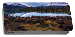 Portable Battery Charger featuring the photograph Sparks Lake by Cat Connor