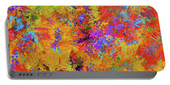 Sparks Of Consciousness Modern Abstract Painting Portable Battery Charger