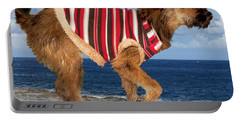 Portable Battery Charger featuring the photograph Sparky by Al Bourassa