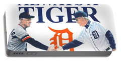 Sparky Anderson And Jim Leyland Portable Battery Charger