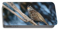 Sparrow Time Portable Battery Charger by Fraida Gutovich
