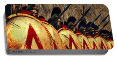 Spartan Army - Wall Of Spears Portable Battery Charger
