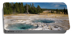 Spasmodic Geyser Portable Battery Charger by Steve Stuller