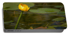 Portable Battery Charger featuring the photograph Spatterdock by Jouko Lehto