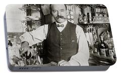 Speakeasy Bartender Portable Battery Charger by Jon Neidert