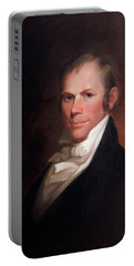 Portable Battery Charger featuring the painting Speakers Of The United States House Of Representatives, Henry Clay, Kentucky  by Matthew Harris Jouett