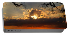 Spectacular Cuban Sunset Portable Battery Charger