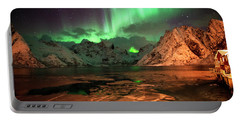 Spectacular Night In Lofoten 1 Portable Battery Charger