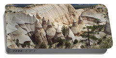 Spectacular Slot Canyon Trail View-at-the-top Portable Battery Charger by Cindy Croal