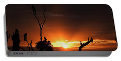 Spectacular Sunset Portable Battery Charger by Betty-Anne McDonald