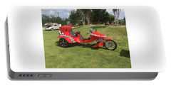 Portable Battery Charger featuring the photograph Speed Racer Trike by Aaron Martens