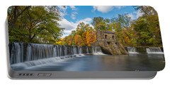Speedwell Dam Fall Foliage Portable Battery Charger