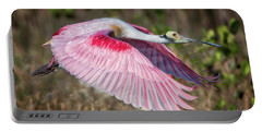 Spoonbill Winging It Portable Battery Charger