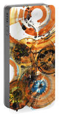 Portable Battery Charger featuring the painting Sphere Series 1024.050312 by Kris Haas