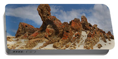Portable Battery Charger featuring the photograph Sphinx Of South Australia by Stephen Mitchell