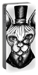 Sphynx Gentleman Portable Battery Charger