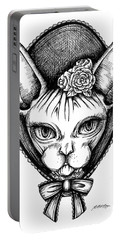 Sphynx Lady Portable Battery Charger