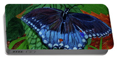 Spicebush Swallowtail Portable Battery Charger by Susan Duda