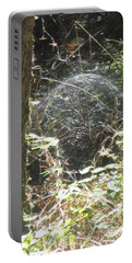 Portable Battery Charger featuring the photograph Spider Dome by Marie Neder