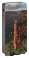 Spider Rock, Canyon De Chelly Portable Battery Charger