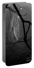 Spider Web Portable Battery Charger by Alana Ranney