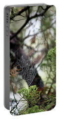 Spider Web In Tree Portable Battery Charger