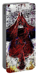 Spiderman Hanging Around Portable Battery Charger