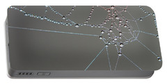 Spiders Intricate Work Portable Battery Charger