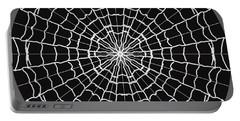 Spiderweb Mandala Portable Battery Charger