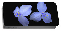 Spiderwort Portable Battery Charger