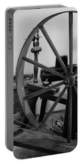 Spinning Wheel At Mount Vernon Portable Battery Charger