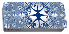 Spiral Abstract 7 Colour Choice Portable Battery Charger