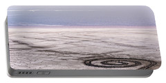 Spiral Jetty - Great Salt Lake - Utah Portable Battery Charger