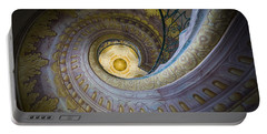 Spiral Staircase Melk Abbey I Portable Battery Charger