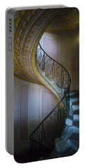 Spiral Staircase Melk Abbey II Portable Battery Charger