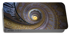 Spiral Staircase Melk Abbey IIi Portable Battery Charger