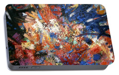 Portable Battery Charger featuring the painting Spirit by Gary Coleman