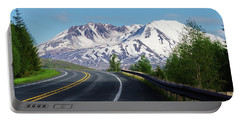 Spirit Lake Highway To Mt. St. Helens Portable Battery Charger