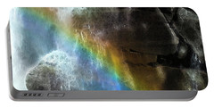 Portable Battery Charger featuring the photograph Spirit Of Nooksack Falls by Yulia Kazansky