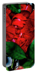 Spirit Of The Rose Portable Battery Charger by Gina O'Brien