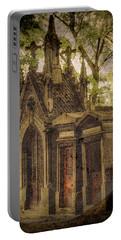 Paris, France - Spirits - Pere-lachaise Portable Battery Charger